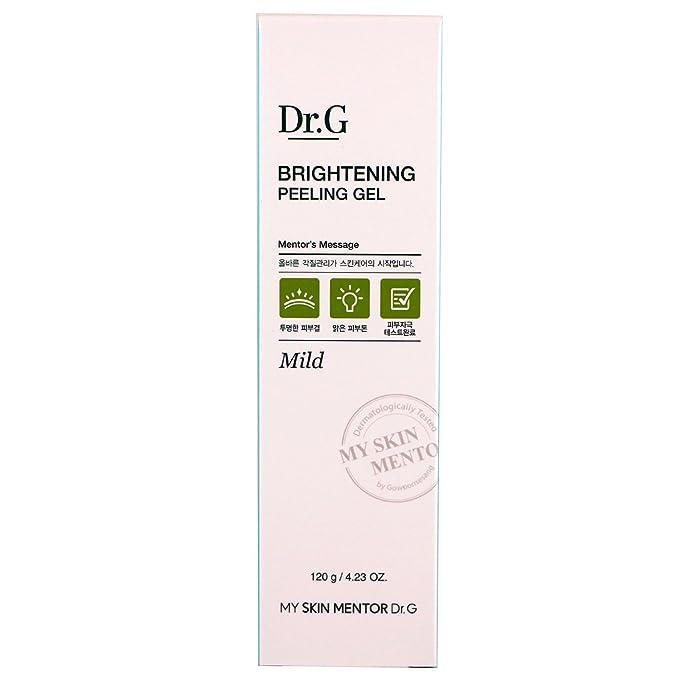 Dr. G Iluminación Peeling Gel, 4,2 onzas