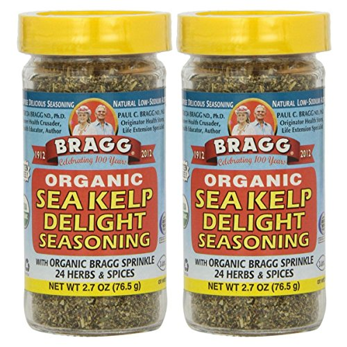 - Bragg, Organic Sea Kelp Delight Seasoning, 2.7 oz (76.5 g) - 2pc
