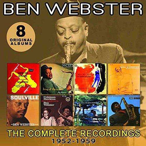 CD : Ben Webster - Complete Recordings: 1952-1959 (4 Disc)