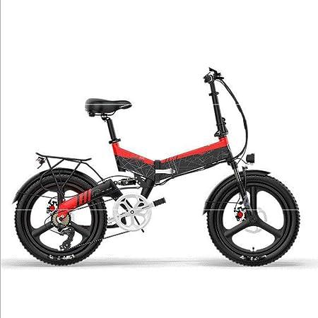 HWOEK Bicicleta Eléctrica Plegable, 20