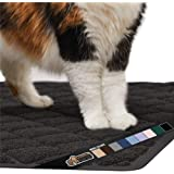 Gorilla Grip Original Premium Durable Cat Litter Mat, No Phthalates, Water Resistant, Traps Litter from Box and Cats…