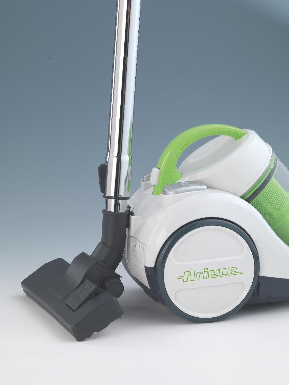 Ariete 2797/2 - Aspirador sin bolsa, 700 W, clasificación A, ECO, color blanco y verde: Amazon.es: Hogar