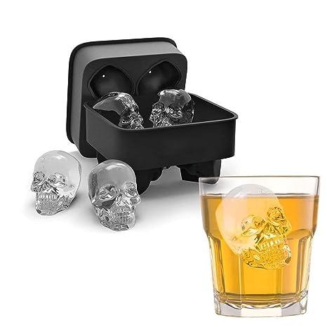 Molde Ivation de silicona para vasos de hielo para chupitos, bandeja de 8 - Puede también ser ...