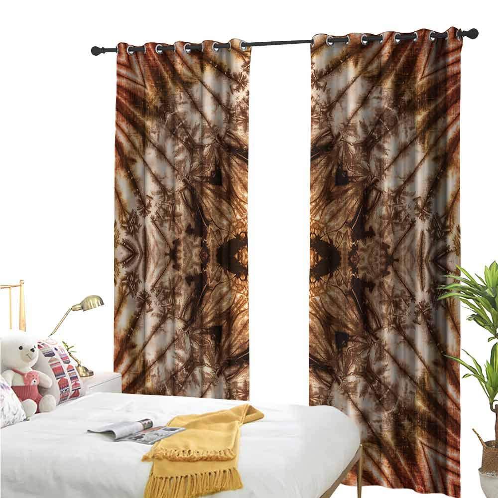 Grommet Creative Blackout Curtains,Tie Dye,Abstract Colorful Design,Suitable for Bedroom Patio Sliding Door Cartoon Printed Nursery Room Boys Girls Bedroom Kids Room Living Room Dorm55 x39