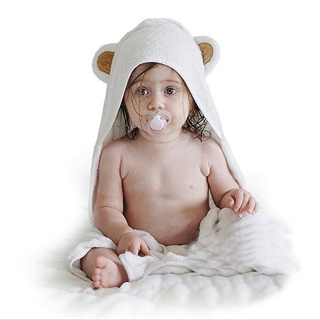 Toallas de Bebé, EONANT Toalla de Baño para Bebé Toalla con Capucha para Bebé Cubierta