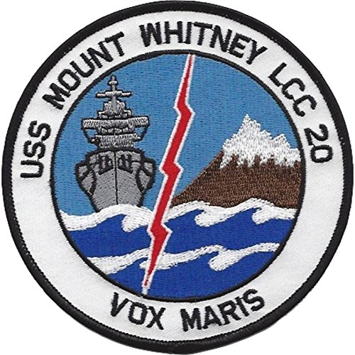 (LCC-20 USS Mount Whitney Patch )