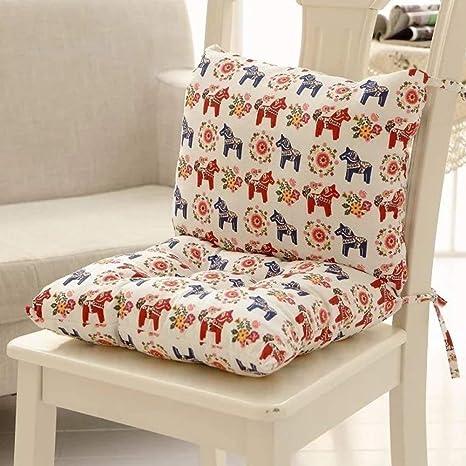 Almohadillas para silla de comedor Juego de cojín para silla ...