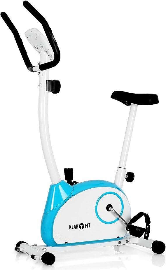 Klarfit MOBI Basic 10 bicicleta estática ergómetro Azul: Amazon.es ...
