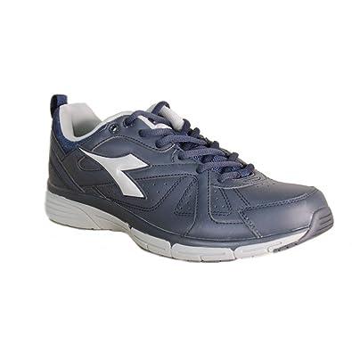 d9f9c60ddc Diadora - Diadora Jazzy Sl 2 Men's Sports Shoes Blue Leather 159937 ...