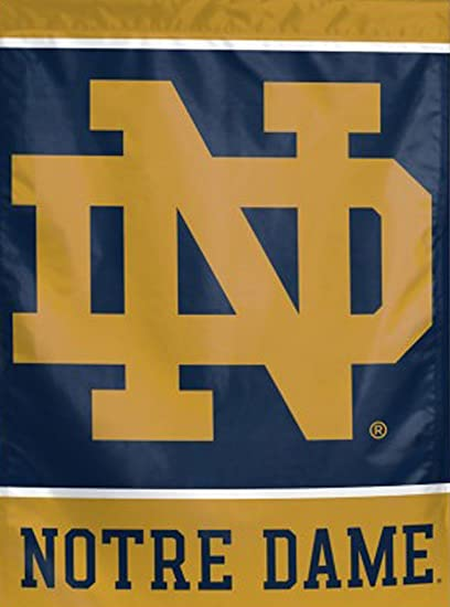 Genial WinCraft University Of Notre Dame Garden Flag, 11x15 Inches, One Sided Print