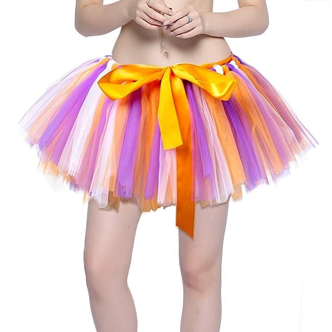 Women S Tutu Skirts Elastic Layered Ballet Mini Skirt Vintage Bubble