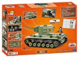 World of Tanks /3004/ Russian Heavy Tank KV 2, 500 building bricks by Cobi