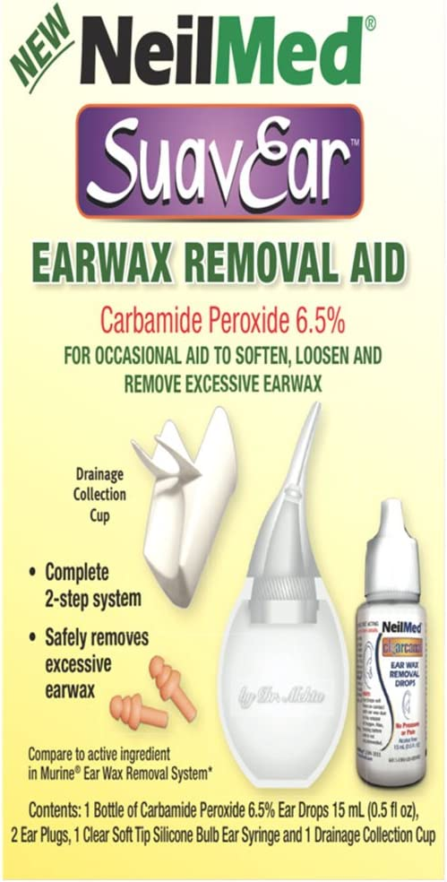 NeilMed Suavear Ear Wax Removal Aid, 0.20 Pound: Health & Personal Care