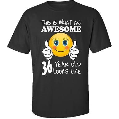 Amazon Emoji Birthday 36th Presents Woman 36 Year Old Gift