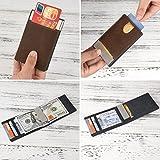 Men Wallet - RFID Minimalist Slim Front Pocket Card