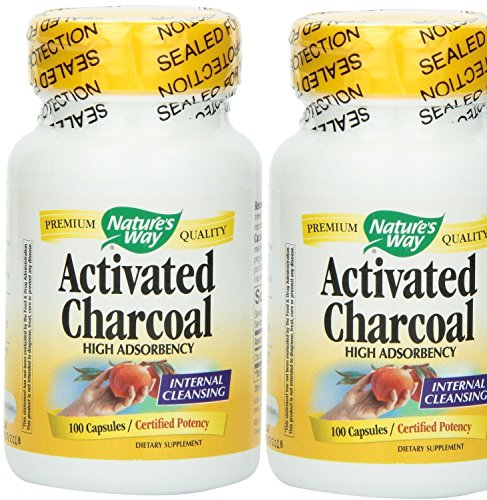 Natures Way Charcoal Activated 100