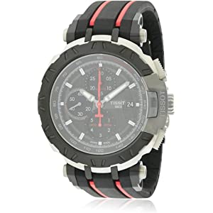 Tissot T-Race Chrono Black Dial Mens watch #T048.417.37.057.00