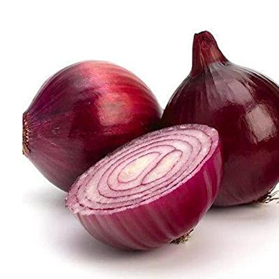 Dozenla Vegetable Seeds - 100pcs Giant Onion Seeds Organic Vegetables Seed DIY Plant for Planting Balcony Garden Seeds : Garden & Outdoor