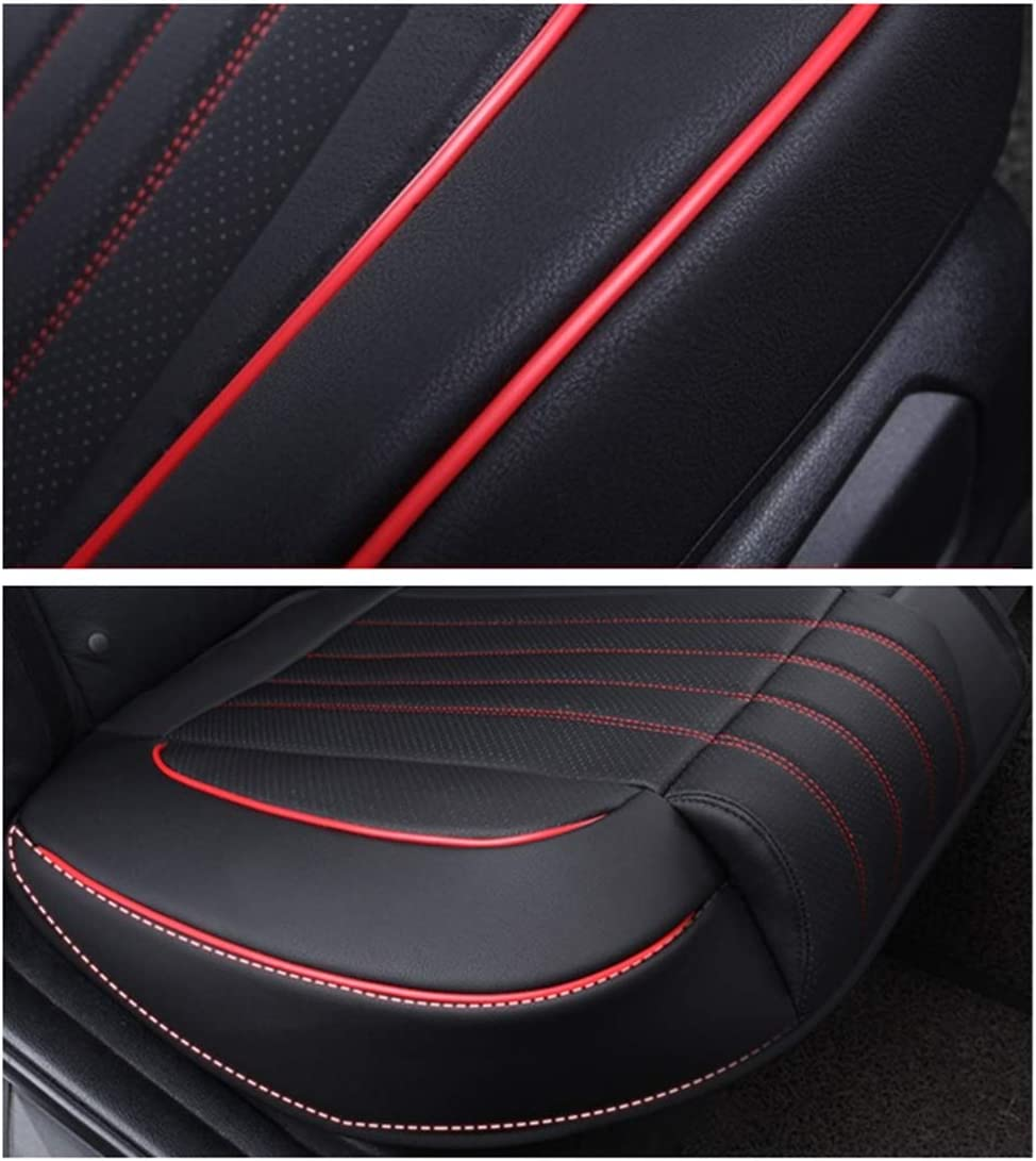 Ex Wind CN 2 Pack Universal Car Seat Cover black Luxury PU Leather Auto Front Driver Seat Cushion Ultra Comfortable Car Seat Bottom Protector,Suitable for More than 90/% Vehicles Models