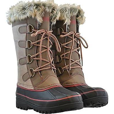 Amazon.com | Khombu Women's Waterpoof Winter Boots Size 10 | Snow ...