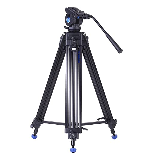 3 opinioni per Andoer Benro KH25N- Treppiede professionale in lega di alluminio per video +