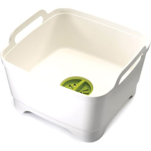 Joseph Joseph Wash & Drain Washing Up Bowl - White