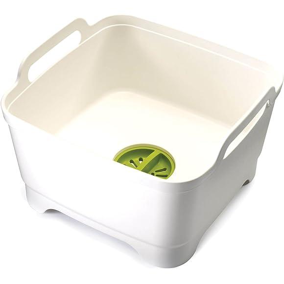 Joseph Joseph Wash & Drain Washing Up Bowl - White