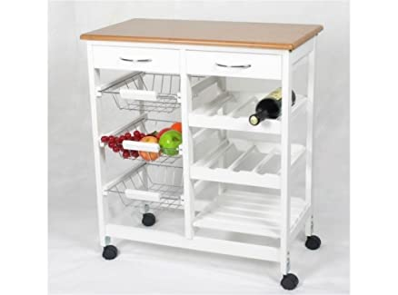 Kit Closet 7040028001, Carrello da cucina, in legno: Amazon.it ...