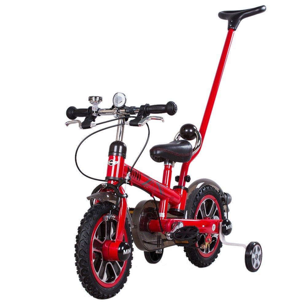 goolsky Rastar子供用ペダルバイクBWM Mini Cooperベビーカー子供の自転車取り外し可能ハンドルバーand Removable Stabilizers B01M5FQDB9