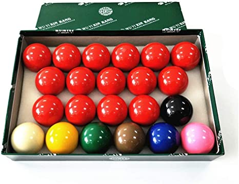 ZHTY 52.5mm (2 Pulgadas) 22 Ball Juego de Bolas de Billar de ...