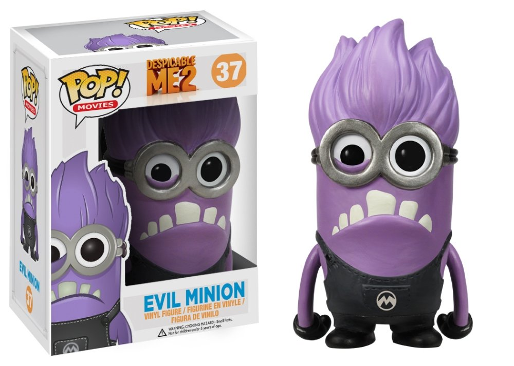 Funko POP Movies (VINYL): Despicable Me - Evil Minion