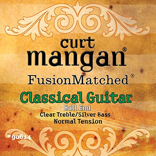Curt Mangan Fusion Matched Classical Guitar Strings Normal Tension (Ball End)