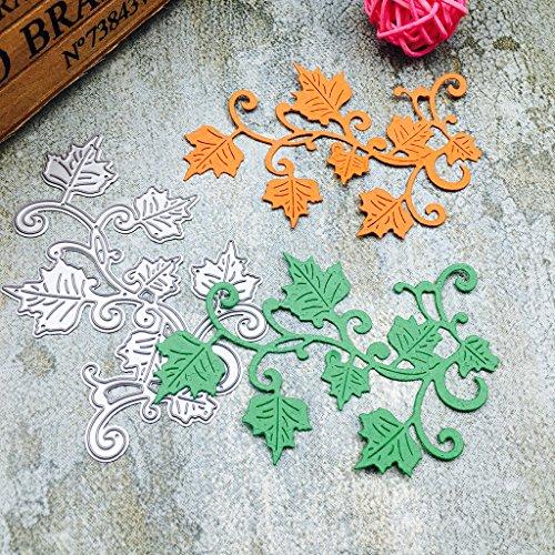 Susada Maple Leaves Embossing Metal Steel Cutting Dies Stencils DIY Scrapbooking Craft by Susada (Image #1)