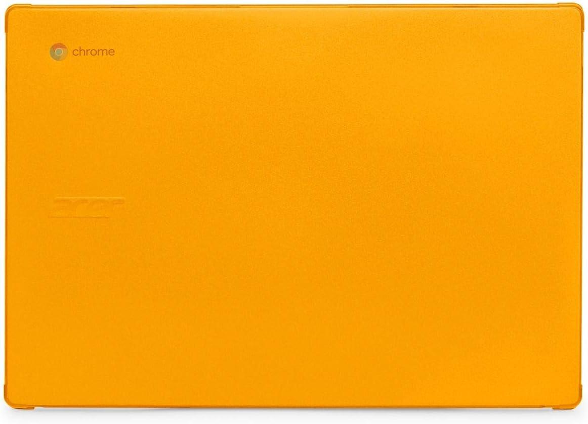 "mCover Hard Shell Case for 2020 14"" Acer Chromebook 314 C933 Series Laptop (Orange)"