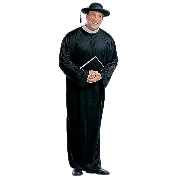 Disfraz de sacerdote para hombre alto sacerdote para disfraz ...