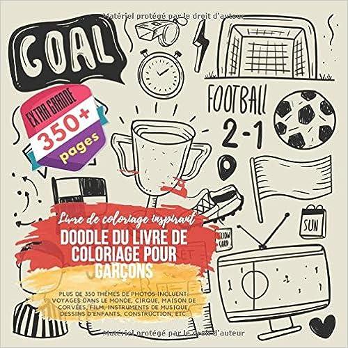 Amazon Com Doodle Du Livre De Coloriage Pour Garçons Livre