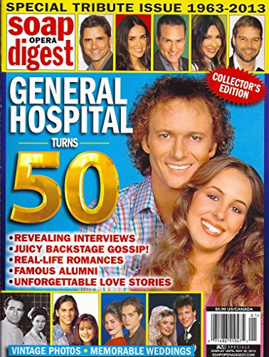 - Anthony Geary, Genie Francis, Demi Moore, Ricky Martin - General Hospital 50th Anniversary Soap Opera Digest Special Tribute Issue 1963-2013 Magazine - Collector's Edition