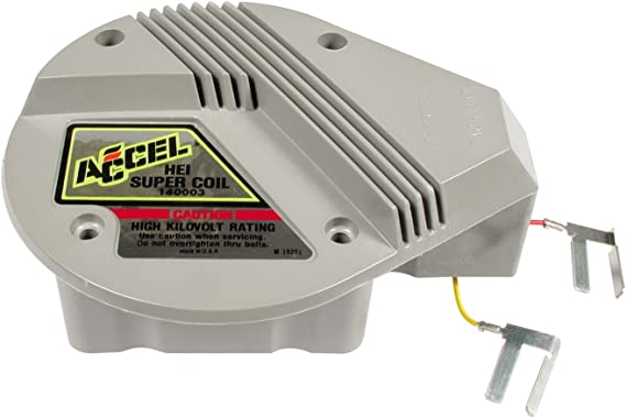 Amazon.com: ACCEL Gm Hei Supercoil Red & Yellow, Gray: AutomotiveAmazon.com
