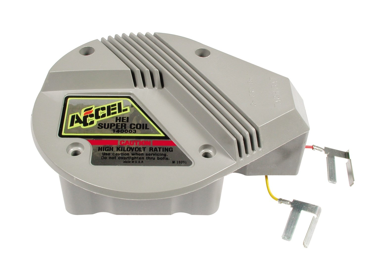 Accel 140003 Hei Red And Yellow In Cap Super Coil Chevy 350 Distributor Rebuild Kit Automotive