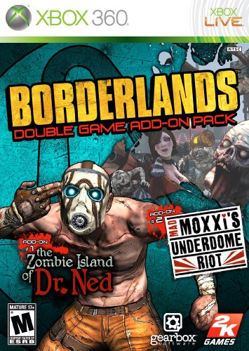 Borderlands Double Game Add On Pack  The Zombie Island Of Dr  Ned   Mad Moxxis Underdome Riot