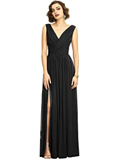 d6246caa0a Amazon.com  Dessy Style 2938 Floor Length Crepe Trumpet Skirt Formal ...