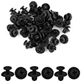 uxcell uxcell 50 Pcs 8mm Hole Retainer Clips