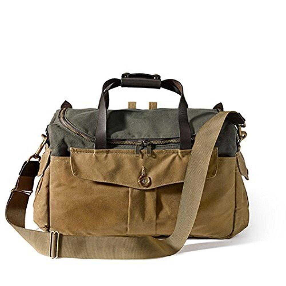 Filson 70143 Original Sportsman Camera Bag (Otter Green/Tan)