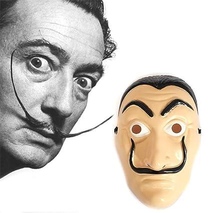 Máscara rígida de la Casa de Papel Dalí. La casa de Papel ...