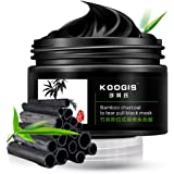 KOOGIS Bamboo Charcoal Tearing Blackhead Removal Mask Deep Clesing Acne Facial Nose by NYKKOLA
