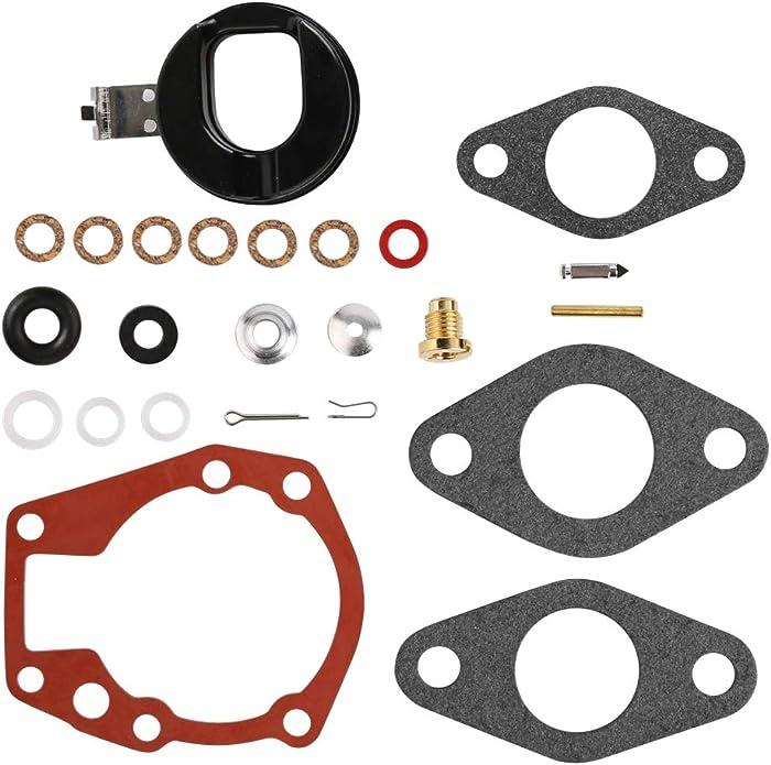 CQYD New 439071 Carburetor Repair Kit For Johnson/Evinrude Carb Rebuild Kit # 439071 0439071 Fit Johnson/Evinrude 1.5-20 Hp - 18-7043, 0382047, 0382046, 038204