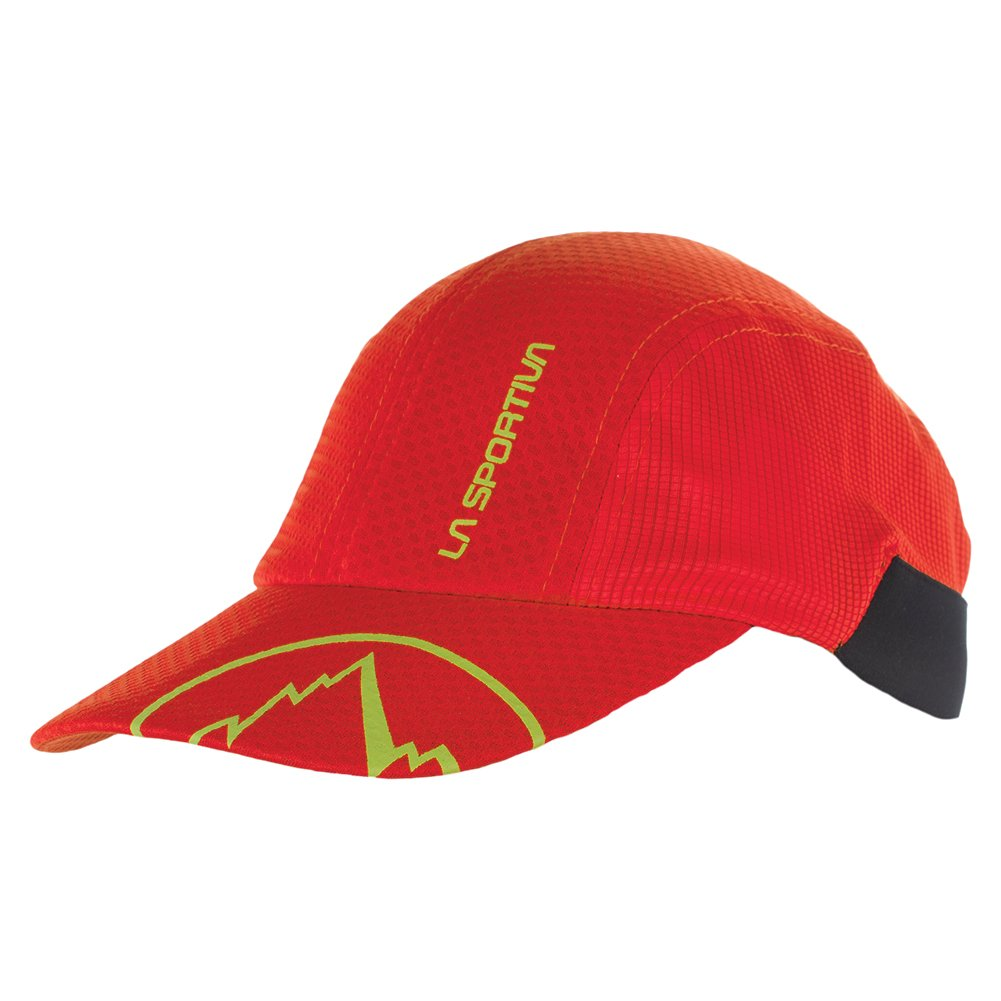 La Sportiva Men's Ultralight Shade Hat, Flame, Small/Medium by La Sportiva