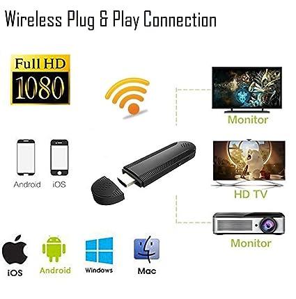 Amazon.com: Fancart WiFi Display Dongle, Receptor de ...