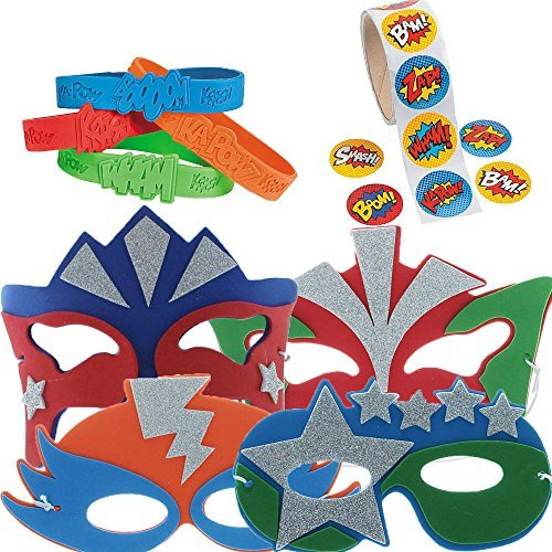 Super Hero Party Favor Supply Pack]()