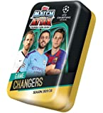 Topps Match Attax - New Mega Tin, 19/20 - 50 Cards, UK Edition